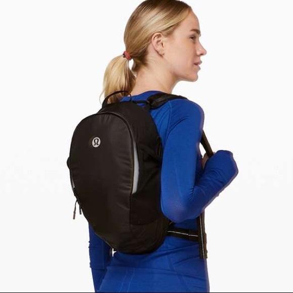 NWT Lululemon Athletica black backpack
